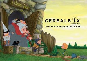 Cerealbox Studios Illus Portfolio 2015 cover