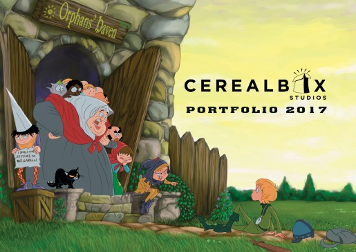 Cerealbox Studios Illus Portfolio 2017 cover