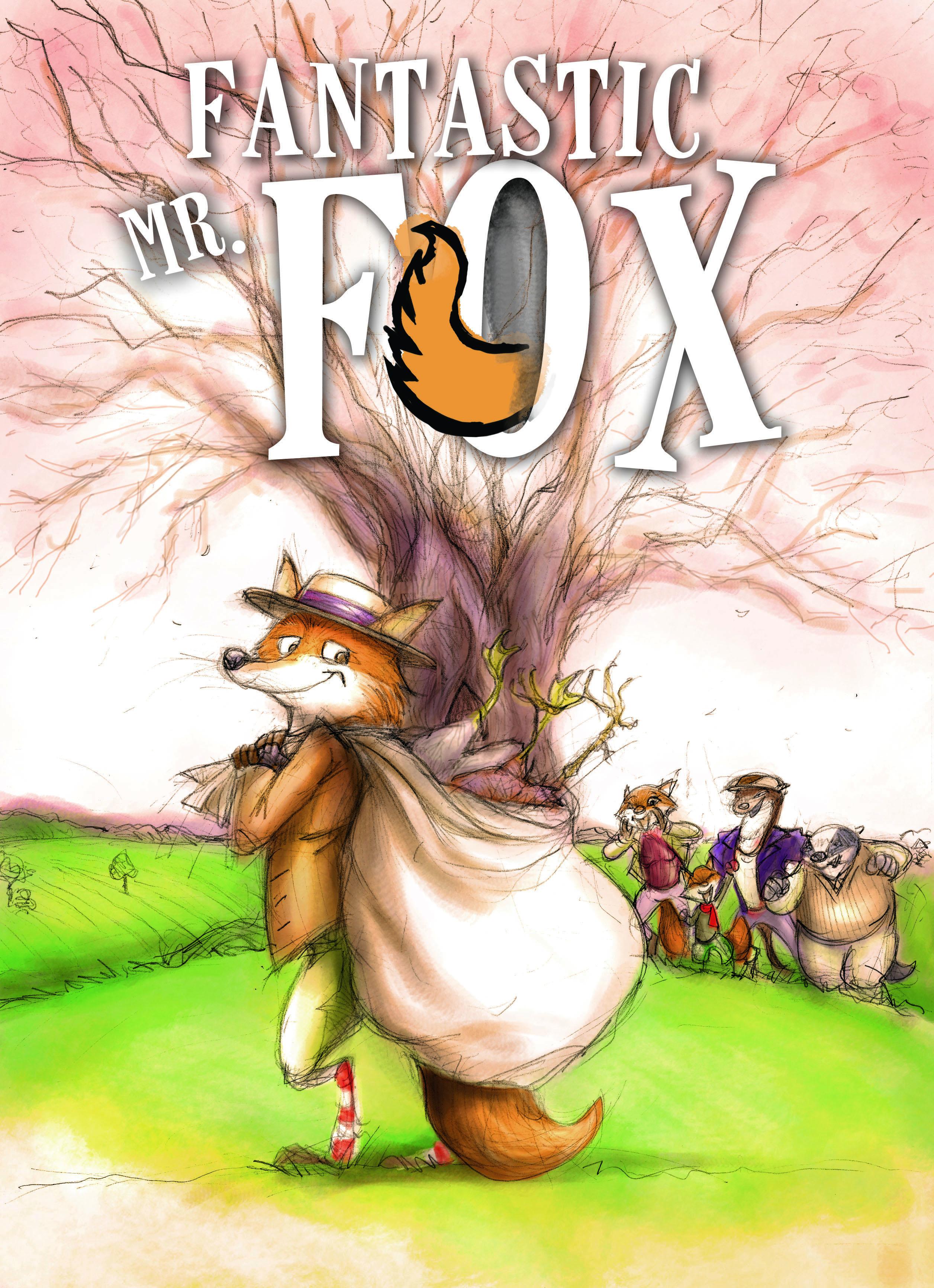 Fantastic Mr Fox Cerealbox Studios